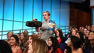 Download You Won't Believe What This Audience Member Wrote to Ellen About Video