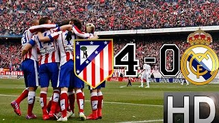 Download Atletico Madrid vs Real Madrid 4-0 All Goals and Highlights | 07-02-2015 HD Video