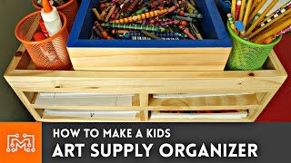 Download How to make an art supply organizer // Woodworking Video