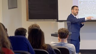 Download ″The Role of Intellectual Property in an Innovation Economy″ Adam Mossoff, Hayek Lecture Series Video