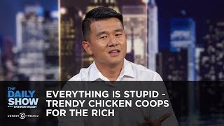 Download Everything Is Stupid - Trendy Chicken Coops for the Rich | The Daily Show Video
