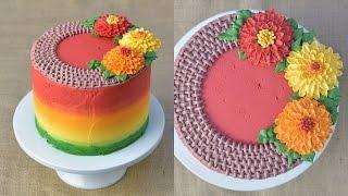 Download BUTTERCREAM MUMS BURLAP WREATH CAKE, HANIELA'S Video