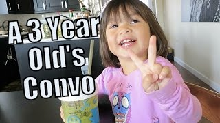 Download A 3 Year Old's Crazy Conversation - October 21, 2015 - ItsJudysLife Vlogs Video