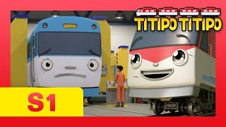 Download TITIPO S1 EP13 l Can Titipo safely cover for Eric?! l Trains for kids l TITIPO TITIPO Video
