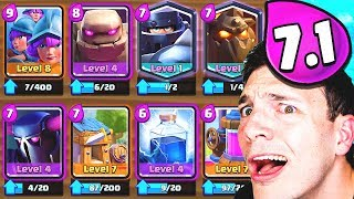 Download FAN-MADE GOLEM DECKS... NIGHTMARE!! (Clash Royale Nickatnyte) Video