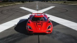 Download Faster Than a Bugatti Veyron? Koenigsegg Agera R - CAR and DRIVER Video