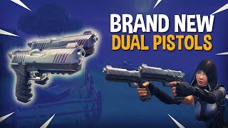 Download *Brand New* Dual Pistols!! - Fortnite Battle Royale Gameplay - Ninja & FearItSelf Video