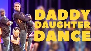 Download EVERLEIGH AND COLE PERFORM CUTEST DADDY DAUGHTER DANCE ON STAGE!!! Video