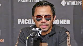 Download Manny Pacquiao POST FIGHT PRESS CONFERENCE vs. Adrien Broner | ShowTime Boxing Video