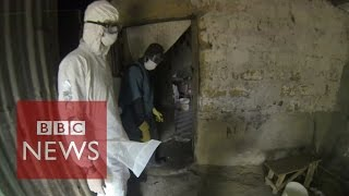 Download Ebola Virus: Film reveals scenes of horror in Liberia - BBC News Video