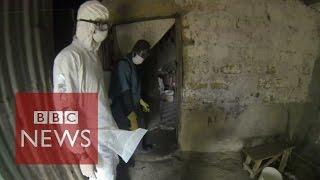 Download Ebola Virus: Film reveals scenes of horror in Liberia - BBC News Video