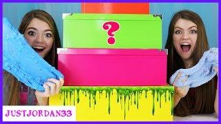 Download Mystery Box Slime Ingredient Challenge / JustJordan33 Video