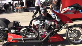 Download Exploding Top Fuel Nitro Harleys in Las Vegas Video