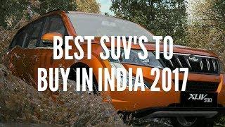 Download Best SUVs To Buy In India 2017   Top 10 SUVs In India 2017   Best SUVs in india Video