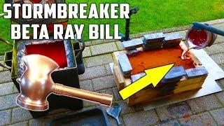 Download Casting Stormbreaker Hammer in Aluminium from Beta Ray Bill ( Marvel Comics) Video