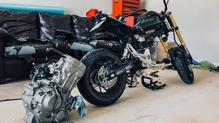 Download I'm swapping a 300cc Engine into my Grom! Video