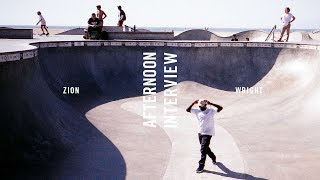 Download Afternoon Interview: Zion Wright Video