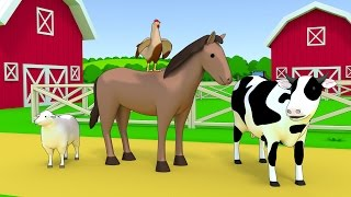 Download Farm animals name and sound - Kids Learning Video