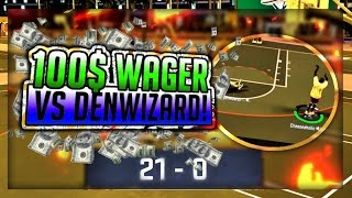 Download DENWIZARD EXPOSED!! 100 DOLLAR WAGER!! 21 SKUNK !! HE DIDNT PAY UP NBA 2K17 Video