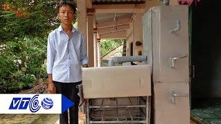 Download Học sinh lớp 8 sáng chế lò đốt rác | VTC Video