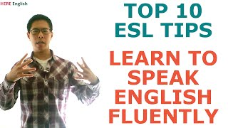 Download Learn to Speak English Fluently - 10 ESL Tips to Master English Conversation Video