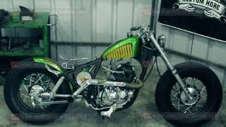 Download KAWASAKI BINTER MERZY BOBBER Video