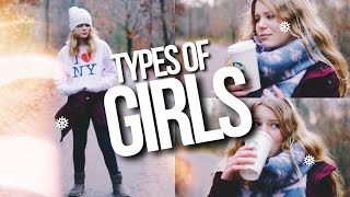 Download TYPES OF GIRLS IN WINTER 2016 // Types Of Girls On Christmas Video
