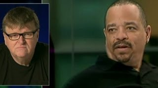 Download Ice T's gun comment leaves Michael Moore cold Video