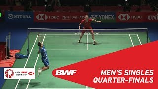 Download QF | MS | Viktor AXELSEN (DEN) [1] vs Anthony Sinisuka GINTING (INA) | BWF2018 Video