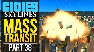 Download Cities: Skylines Mass Transit   PART 38   DESTROYING NERDSHIRE Video