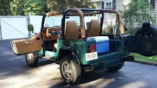 Download 1994 jeep wrangler restored Video