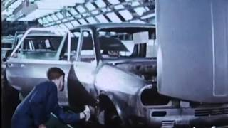 Download Renault 12 Fransa Fabrikası Üretim Görüntüleri 1972 Video