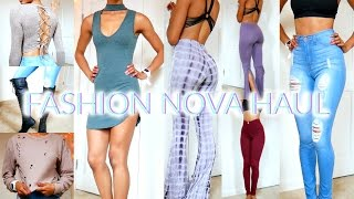 Download HUGE FASHION NOVA TRY ON HAUL! 2016 • Lawenwoss Video