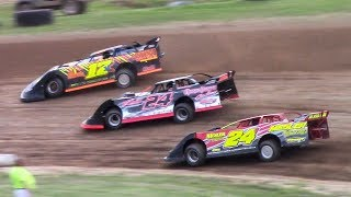 Download RUSH Crate Late Model Heat One   McKean County Family Raceway   6-16-18 Video