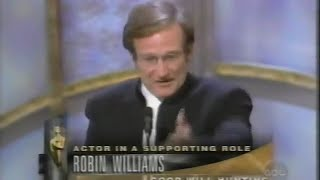 Download Robin Williams winning Best Supporting Actor for Good Will Hunting Video
