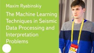 Download Machine Learning in Seismic Data Processing and Interpretation - Maxim Ryabinskiy Video