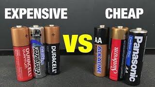 Download Expensive Batteries vs Cheap Batteries! Video