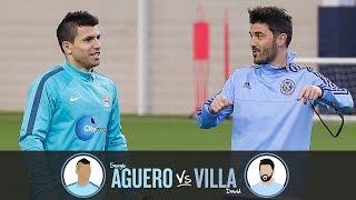 Download Corner Challenge   AGUERO v VILLA   Challenge 3 Video