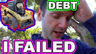 Download Can't Afford Caterpillar Equipment...Too Much Debt (Selling Skid Steer) Video