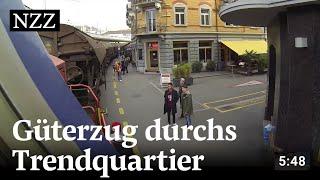 Download Der Koloss von Zürich West: Mit dem Güterzug durchs Trendquartier Video