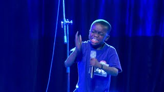 Download A MUST WATCH VIDEO: A 10 year old boy singing in a Talent Hunt and The Holy Ghost took over. Video