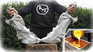Download DOUBLE Aluminum Casting - Blades Of Chaos (God Of War) Video