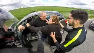 Download CRAZY ROAD RAGE | STUPID ANGRY PEOPLE vs BIKERS | MOTORCYCLE ROAD RAGE Video