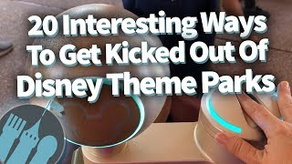 Download 20 Interesting Ways To Get Kicked Out Of Disney Theme Parks! Video