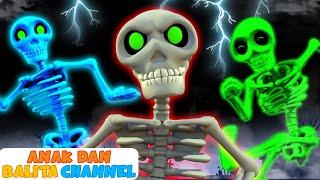 Download Lima Tengkorak Berjalan | Kumpulan Lagu Anak-Anak Edisi Halloween | Anak dan Balita Channel Video