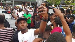 Download SHATTA WALE STORMS ACHIMOTA RETAIL CENTER WITH STORM ENERGY DRINK Video