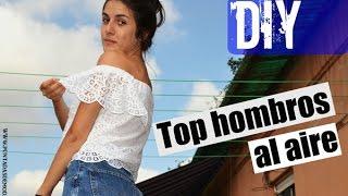 Download DIY Top hombros al aire / Off the shoulder Video