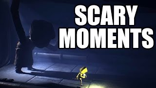 Download LITTLE NIGHTMARES - Scary Moments / Creepy Scenes Video