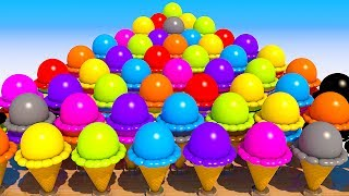 Download Teach Numbers with 3D Ice Cream for Kids and Children Video