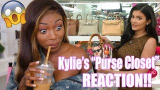 Download REACTING TO KYLIE'S $1,000,000 ″PURSE CLOSET″ TOUR! Video